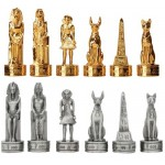 Egyptian Pewter Chess Set at Majestic Dragonfly, Home Decor, Artwork, Unique Decorations