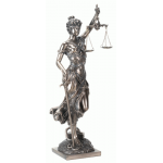 Lady Justice with Scales Bronze Statue at Majestic Dragonfly, Home Decor, Artwork, Unique Decorations