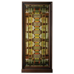 Frank Lloyd Wright Oak Park Skylight Art Glass Panel