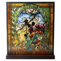 Tiffany Spring Art Stained Glass Window Reproduction