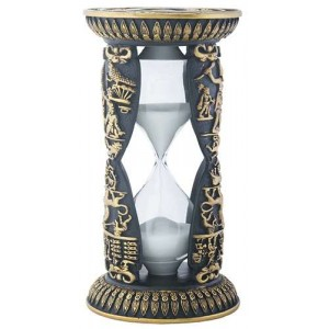 Egyptian Victory Sand Timer Majestic Dragonfly Home Decor, Artwork, Unique Decorations