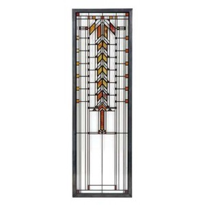 Barton House Buffet Door Frank Lloyd Wright Stained Glass Art