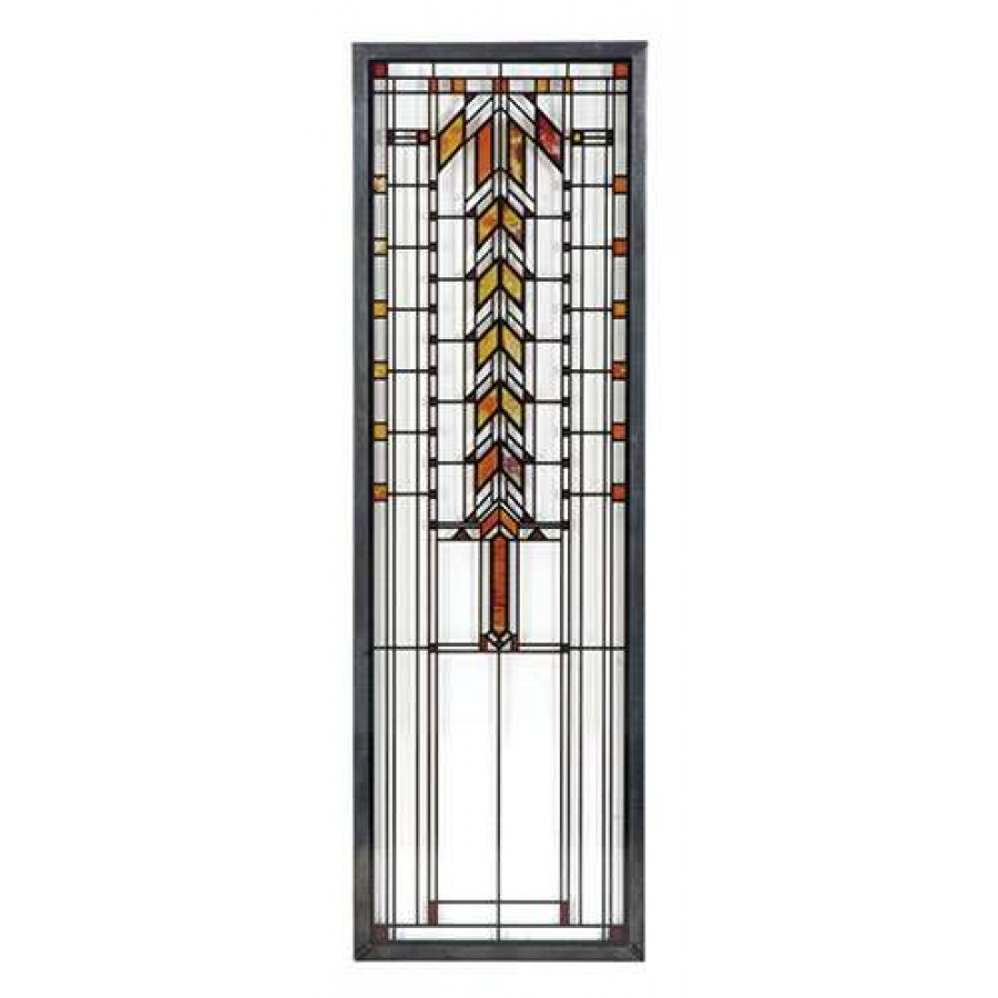 Barton House Buffet Door Frank Lloyd Wright Stained Glass Art At Majestic  Dragonfly, Home Decor