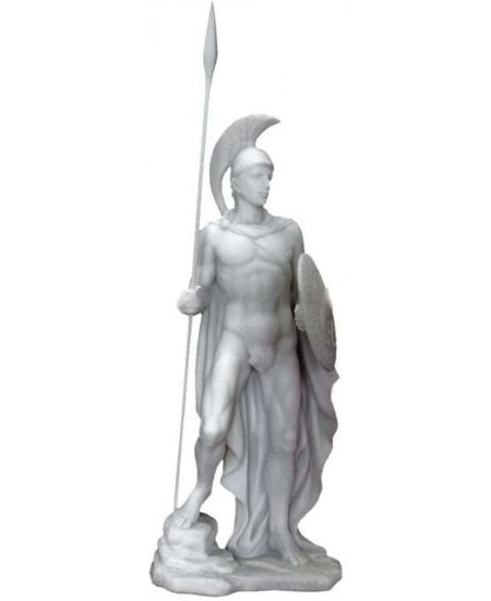 Ares Greek God of War Statue at Majestic Dragonfly, Home Decor, Artwork, Unique Decorations