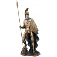 Ares Greek God of War Bronze Statue