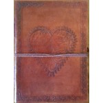 Heart Leather Journal at Majestic Dragonfly, Home Decor, Artwork, Unique Decorations