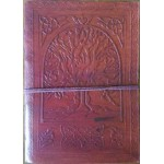Tree of Life 7 Inch Leather Journal at Majestic Dragonfly, Home Decor, Artwork, Unique Decorations