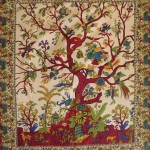 Tree of Life Single Tapestry at Majestic Dragonfly, Home Decor, Artwork, Unique Decorations