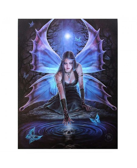 Immortal Flight by Anne Stokes Canvas Art Print at Majestic Dragonfly, Home Decor, Artwork, Unique Decorations